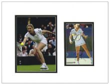 Steffi Graf Autograph Signed Photo Display